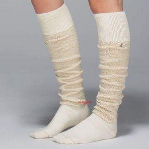 6c358a97437 lululemon athletica Accessories - Lululemon After Asana Over The Knee Socks  Thigh Hi
